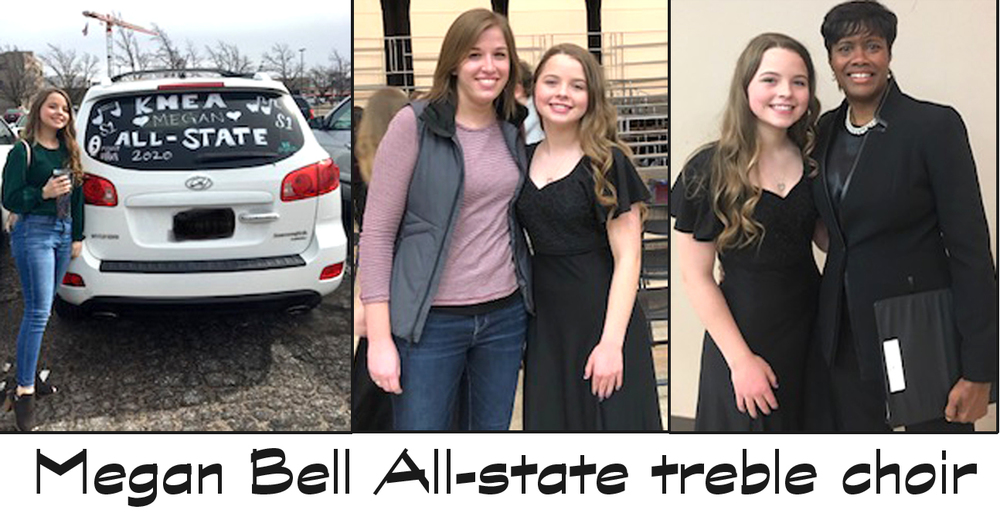 Bell performs with all-state group