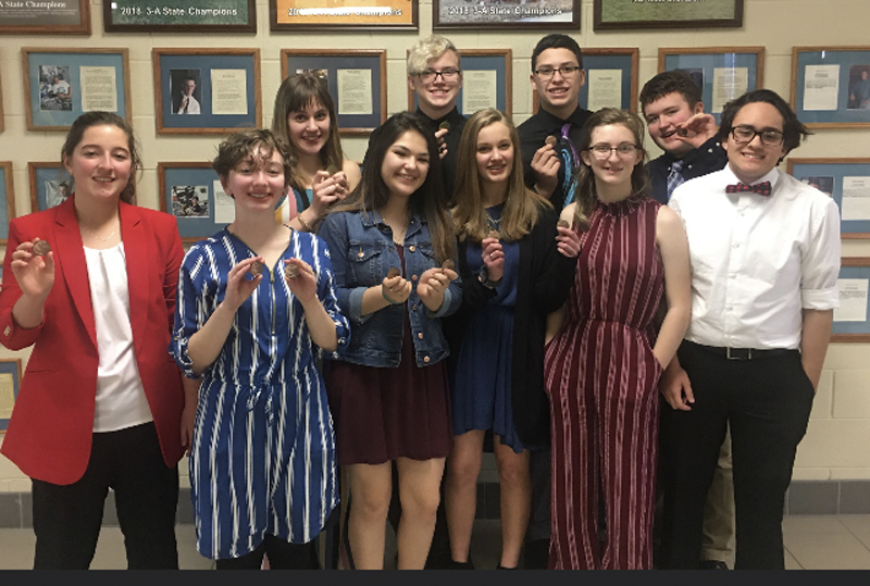 Forensics fourth in Scott City