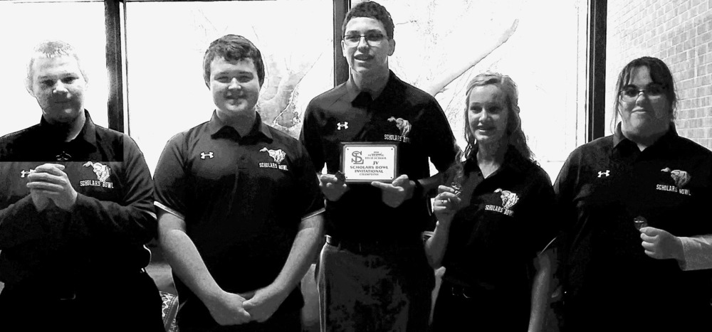 JV Scholars Bowl 1st Place at Sublette