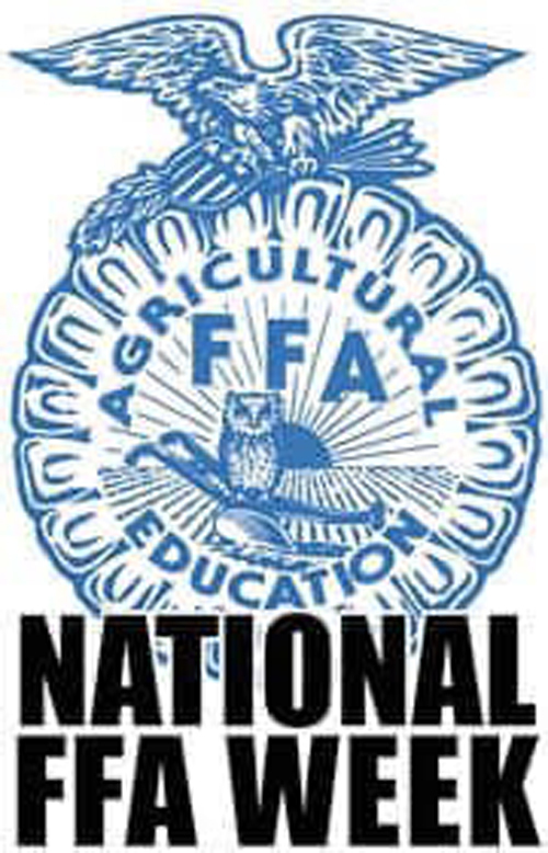 National FFA Week--Monday is Hat Day