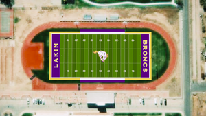 Lakin Football Stadium to be Converted to Artificial Turf