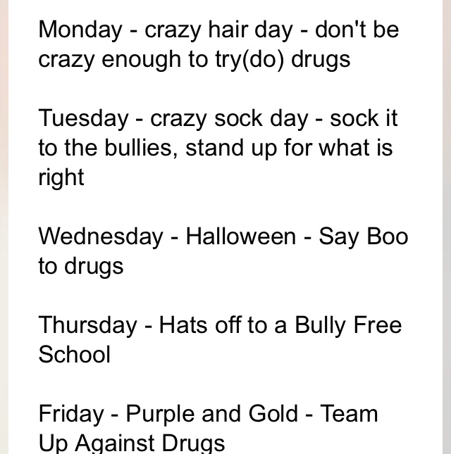 Themes this week!