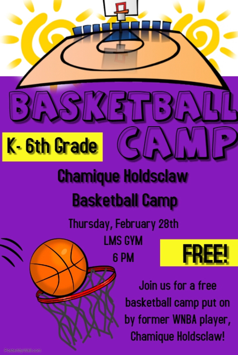 K-6 Basketball Camp