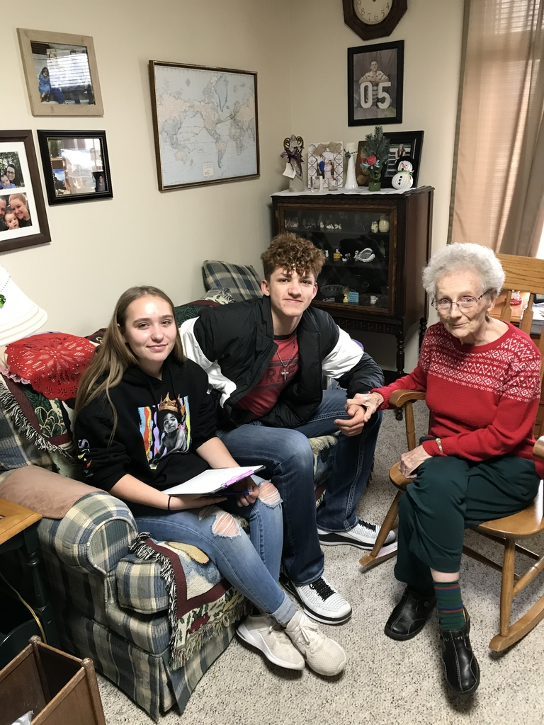 Lili Burch and Don Daniels interviewed Mrs Daugherty.