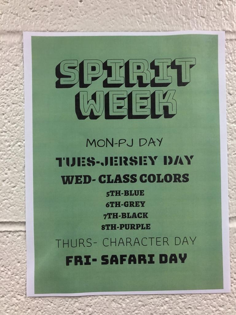 LMS Spirit Week this week!