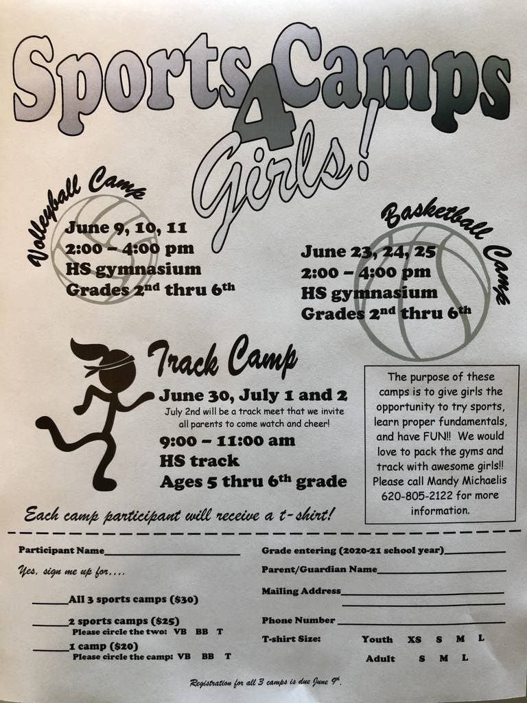 Sports camp for girls
